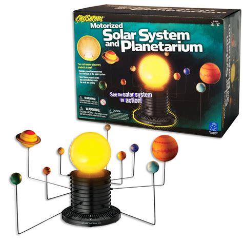 motorized toys geosafari motorized solar system educational toys planet