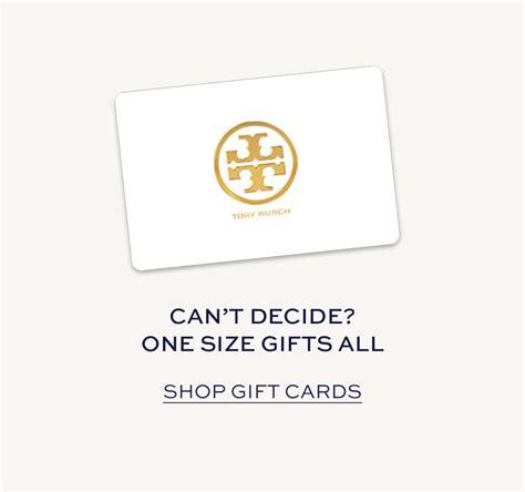 Tory Burch Gift Card - designer graduation accessories gifts tory burch
