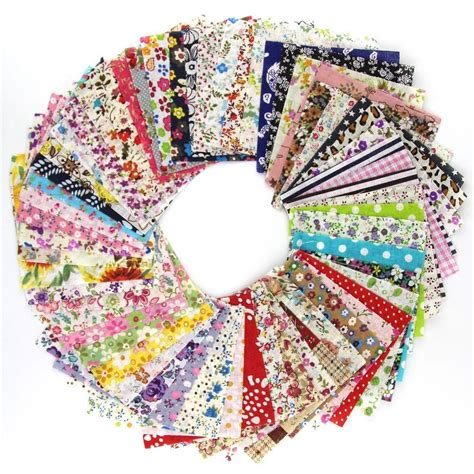 Patchwork Bundles - 60 pieces lot 10cmx10cm charming pack diy tecido quilting