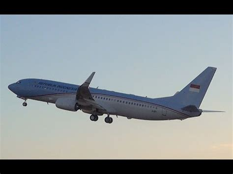 Yotuber Indonesia 001 airforce boeing 737 a 001 takeoff from