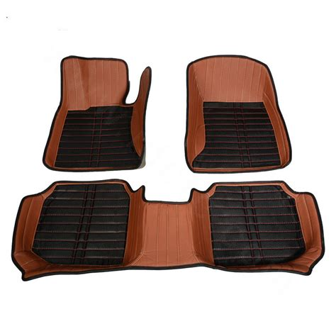 Brown Car Mats by Buy Wholesale Personalized Pu Leather Tailored Auto Carpet
