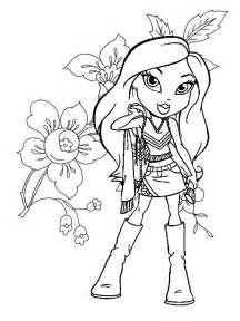 bratz coloring pages bratz coloring pages