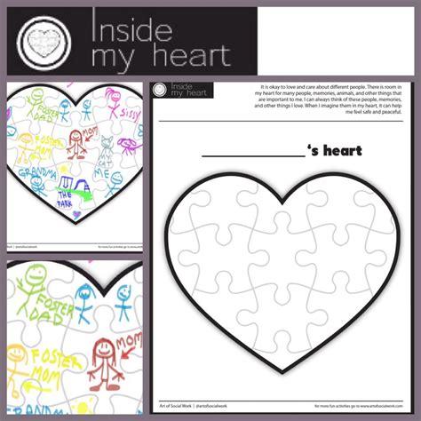 feelings inside my heart in my heart art of social work