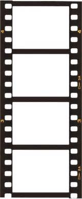 Filmstrip Template by Blank Template Free Clipart Best