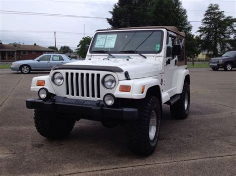 2000 Jeep Wrangler Gas Mileage Purchase Used 2000 Jeep Wrangler In Hurricane West