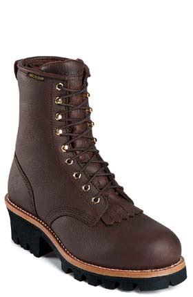 chippewa bootsmotorcycle boots snakeboots logger boots chippewa redwood logger steel toe insulated lace up 73060