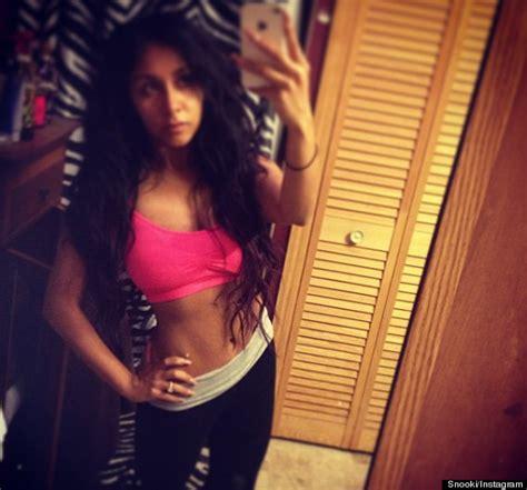 Nicoles Post Baby Bod by Snooki S Looks Amazing In New Instagram Photo Huffpost