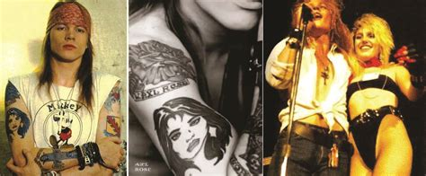 axel rose tattoos pics for gt axl tattoos