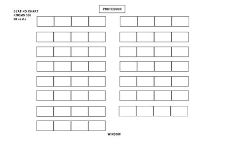 100 seating chart template for classroom classroom