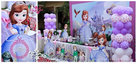 themes for girl bday parties sofia the first birthday party theme for baby girls themed