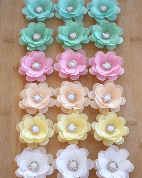 25 best ideas about wafer paper flowers on