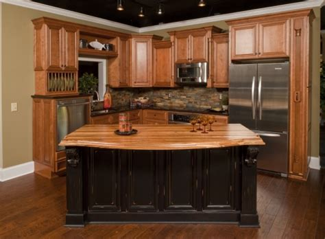 honey kitchen cabinets dark wood floors with honey oak cabinets wood floors