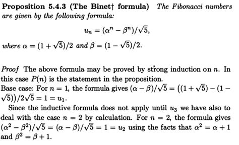 how to make a strong induction base in the binet formula proof by strong induction mathematics stack exchange
