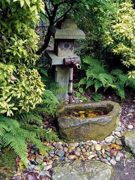 japanese garden ideas for backyard tsukubai water fountains japanese garden design ideas