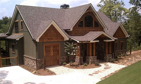 Rustic Home Plan by Rustic House Plans With Finished Basement Pertaining To