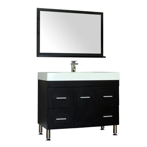 home design outlet center bathroom vanities alya at 8041 39 quot single modern bathroom vanity black
