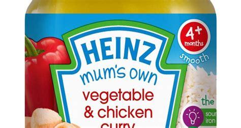 Heinz Mums Own Meditteranean Veggies Chicken heinz baby revs s own range