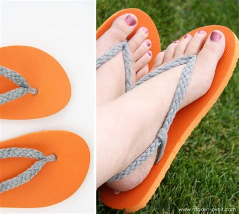 Selling Handmade Items Australia - flip flop refashion part 1 braided straps make it and