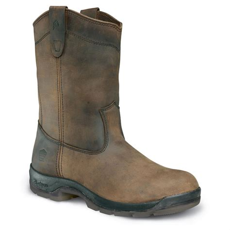 comfort work shoes men s lacrosse 174 11 quot wellington quad comfort work boots