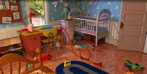 bedroom toys andy s bedroom toy story places pinterest bedroom