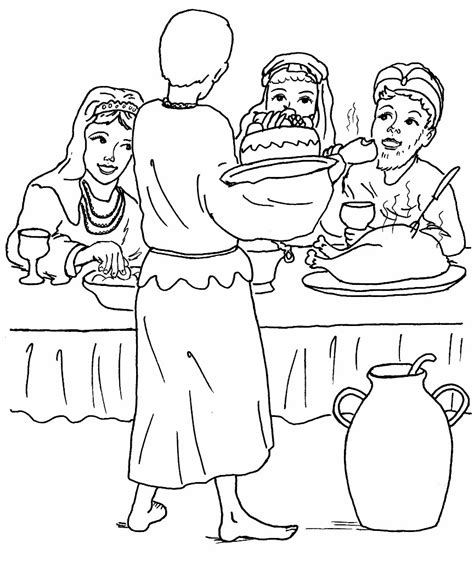 the lost son parable puzzles coloring pages parable of