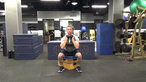 box squat bench band goblet box squat youtube