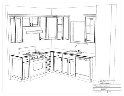 Kitchen Cabinet Drawing Kitchen Drawings Swoon Interiors
