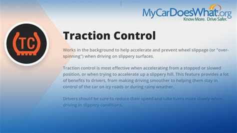 Traktionskontrolle Auto by Traction System Tcs My Car Does What