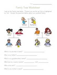 family tree worksheet esl pinterest family tree