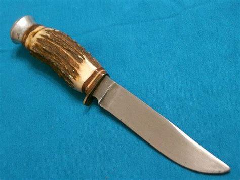 solingen kitchen knives vintage b svoboda solingen cutlery germany stag skinning knife knives vg ebay