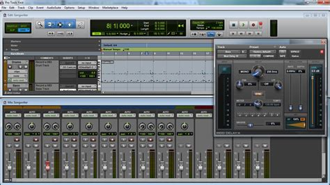 Pro Tools 9 Original Win Osx free digital audio workstation list recording studio 9