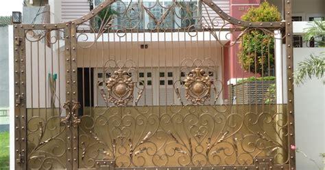Las Hlas Besi No 2 pintu besi tempa bengkel las dan canopy minimalis