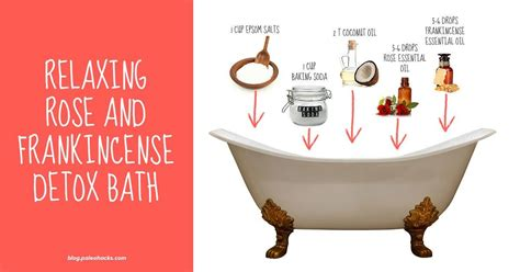 Chemical Detox Bath by 2 Detox Bath Recipes To Naturally Flush Out Toxins