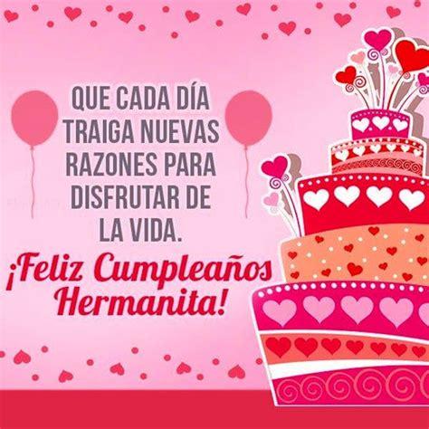 imagenes graciosas de feliz cumpleaños para mi hermana lindo feliz cumplea 241 os cristiano para una hermana