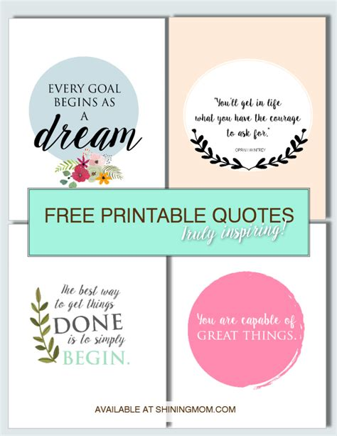 free printable quotes with pictures free printable quotes for your walls truly inspiring