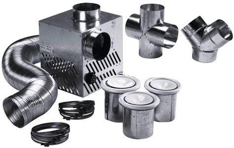 recuperateur air chaud cheminee kit de distribution d air chaud 224 3 bouches d 233 bit 350 m3 h