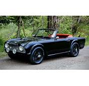 This Murdered Out 1961 Triumph TR4 Blends Heritage And