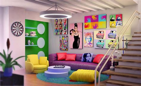 15 colorful and fancy living room designs