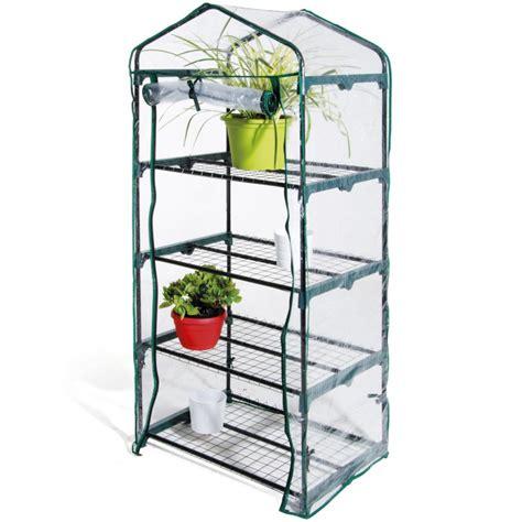 scaffale per piante serra da giardino terrazzo balcone per piante in metallo e