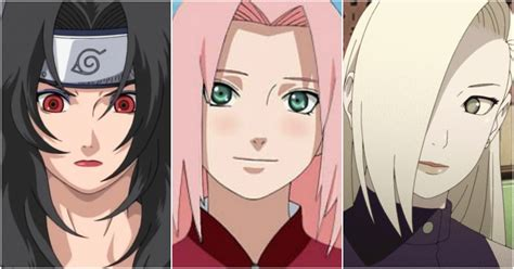 hot female anime characters list 20 female characters of naruto ranked from most to least