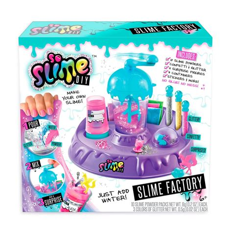 Slime Kit Slime slime factory so slime diy kit mixture w storage