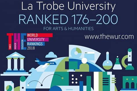 La Trobe Ranking For Mba by Kom La Trobe Ranked Top 200 For Arts Humanities