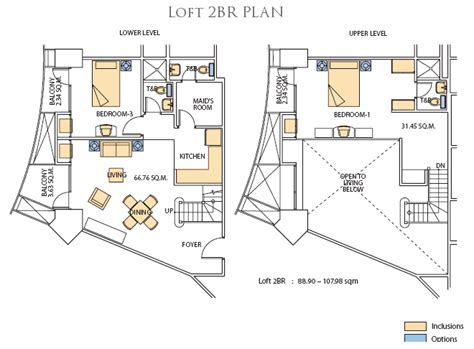Loft Blueprints by The Gramercy At Century City The Best Condominiums In Makati
