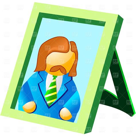 photo clipart portrait in the frame free vector clip image 4565
