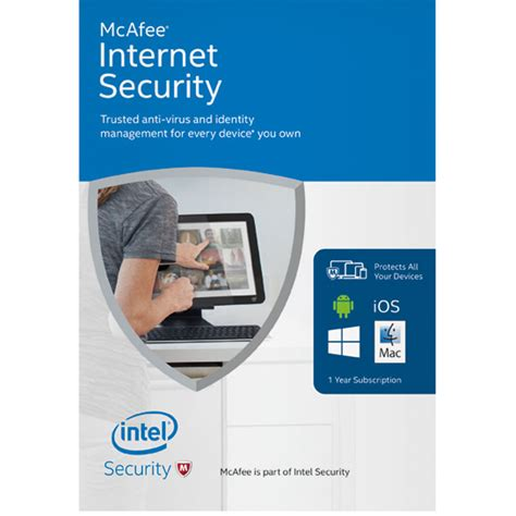 Mcafee Internet Security 2016 Mcafee Protection | mcafee internet security 2016 mis16z009rka b h photo video