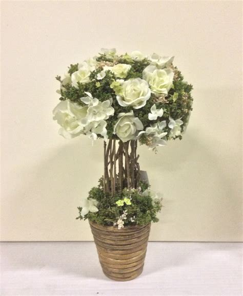 potted topiary plants new design potted 33cm artificial topiary plant