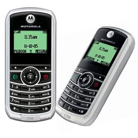 Handphone Motorola restart handphone motorola c118 review