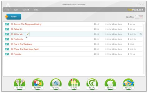 audio format file extensions freemake audio converter file extensions