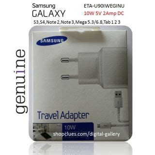 Samsung Travel Adapter Original Charger 5v 2a Free Us Diskon buy samsung original charger adapter 5v 2a 10w for note 2 3 mega s4 eta u90iweg
