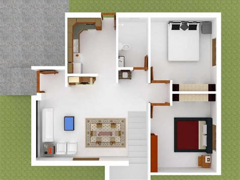 Home Decor Online India by Architect House Plan 3d Modern House